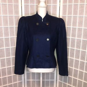 Vintage double breasted blazer navy size 10